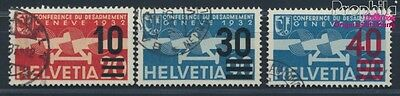 Switzerland 291-293 (complete issue) fine used / cancelled 1936 Print (8618597