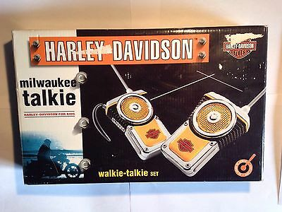 Harley Davidson Milwaukee Talkie Walkie Talkies With Box And Instructions Rare