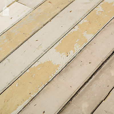 18 Square Metres of Reclaimed Pine Match Board Bead Board Cladding with Distress