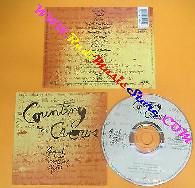 CD COUNTING CROWS AUGUST AND EVERYTHING AFTER 1993 France no lp mc dvd (CS10)