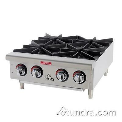Star - 604HF - Star-Max® 4 Burner Gas Hot Plate