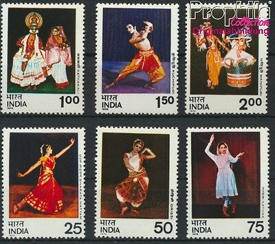 India 646-651 unmounted mint / never hinged 1975 Dances (8882760