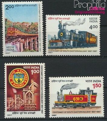 India 1087-1090 unmounted mint / never hinged 1987 Südostbahn (8882730