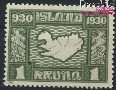 Iceland 136 unmounted mint / never hinged 1930 millennium (8883146