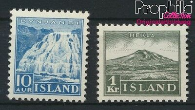 Iceland 181-182 unmounted mint / never hinged 1935 Landscapes (8883134