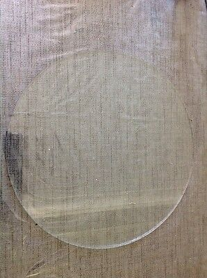 ANTIQUE WALL CLOCK GLASS FLAT 302mm 4mm Thick