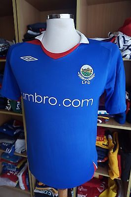 Shirt Linfield FC 2006/07 (S) Home Umbro Blue Shirt Northern Ireland Trikot