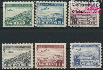 Albania 489-494 unmounted mint / never hinged 1950 Landscapes (8927922