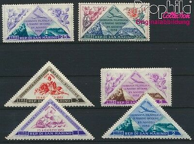 San Marino 485-490 unmounted mint / never hinged 1952 Stamp Exhibition (8927889