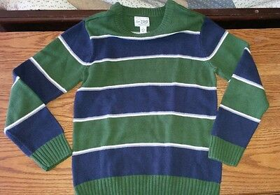 Children's Place boys striped sweater size 10-12 EUC