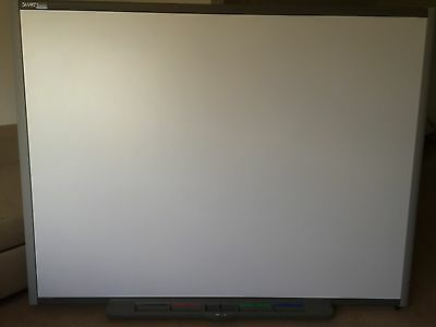 "77"" SMART BOARD (SB680) INTERACTIVE WHITEBOARD with tray & pens"