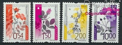 Bulgaria 4732-4735 MNH 2006 clear brands - wild rose (8985183