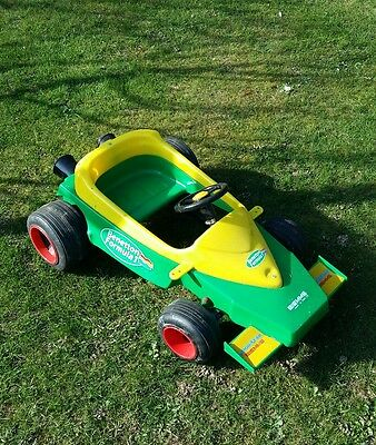 F1 Ford Benetton rare toy pedal car