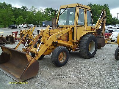Case 580B Backhoe, Backhoe, Case Backhoe