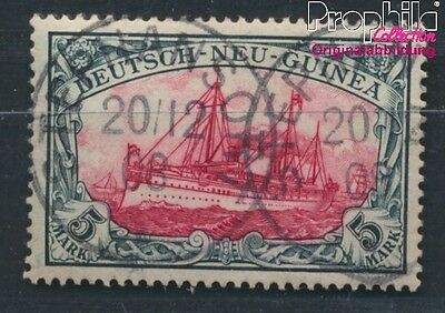 German-Guinea 19 proofed used 1901 Ship Imperial Yacht Hohenzollern (8984004