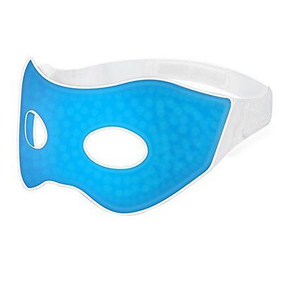 Ultra-soft Gel Beads Cool & Warm Spa Therapy Eye Mask for Puffy and Black Eyes
