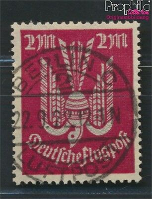 German Empire 216b proofed used 1922 Airmail with colored Vacuum (8984284