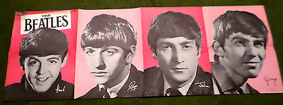 The Beatles - Vintage Dell No. 2 Poster - 1964 - Intact!