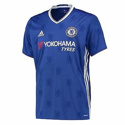 adidas Mens Gents Football Soccer Chelsea Home Shirt Jersey Season 2016-2017
