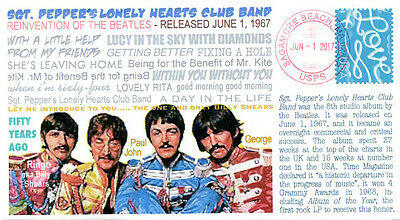 COVERSCAPE computer generated 50th Sgt. Pepper's Lonely Hearts Club event cover