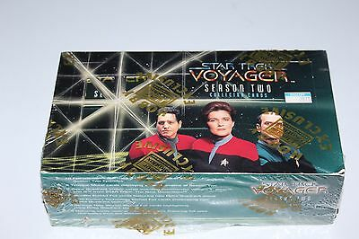STAR TREK Voyager Season Two - 48 Pack Sealed Hobby box - 1996 Fleer/Skybox bx6