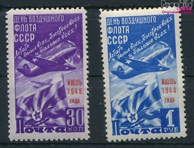 Soviet-Union 1239-1240 unmounted mint / never hinged 1948 air force (9018881