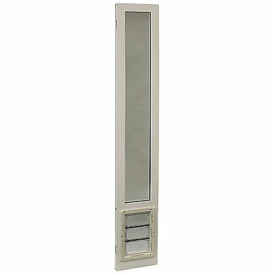 """Ideal Pet Products 78"""" VIP Vinyl Insulated Pet Patio Door, X-Large White"""
