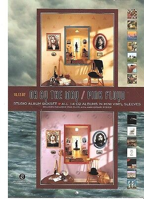 PINK FLOYD 'Oh By The  Way' 2008 UK magazine ADVERT / Poster 11x8 inches