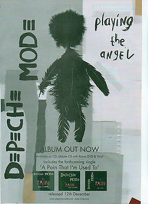 DEPECHE MODE Playing The Angel UK magazine ADVERT/Poster/Clipping 11x8 inches