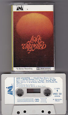 LOVE UNLIMITED-SELF TITLED-(BARRY WHITE) Musikkassette
