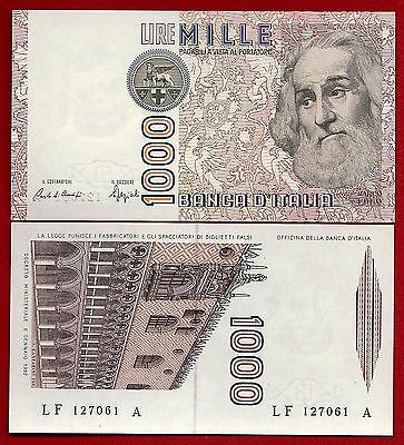 Italy P-109 1000 Lire Year D.1982 Marco Polo Uncirculated Banknote