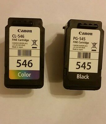 empty printer cartridges for canon (545 & 546)