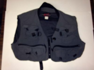 D509 Simms Fly Fishing Vest Guide Vest Green