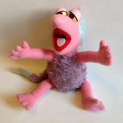 Vintage Retro TV 80's Jim Henson Fraggle Rock Pedigree Plush Toy figure muppets