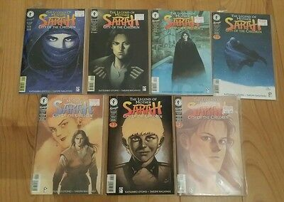LEGEND OF MOTHER SARAH CITY OF CHILDREN #1-7 set KATSUHIRO OTOMO dark horse