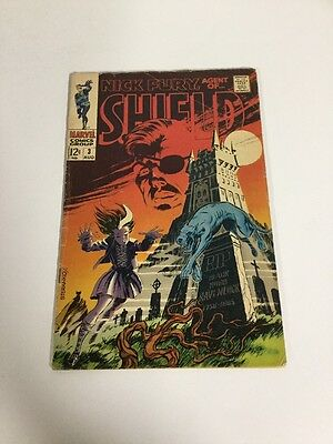 Nick Fury, Agent Of Shield 3 Gd/Vg Good/Very Good 3.0 Silver Age