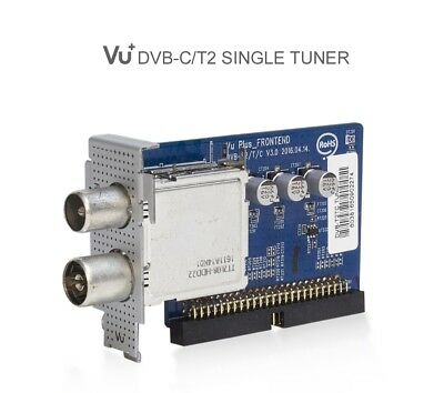VU+ Plus Single DVB-C/T2/T V3.0 Tuner Solo SE, 4K Duo2 Ultimo 4K Cable Freeview