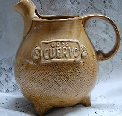 Jose Cuervo Brown Ceramic Jug Heublein 1975 Conn