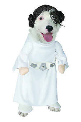 Star Wars Pet Standing Princess Leia Costume - 4 sizes fnt
