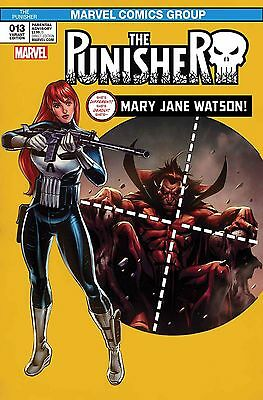 Punisher # 13 Mary Jane Variant Cover Marvel NM Pre Sale Ships June 28th
