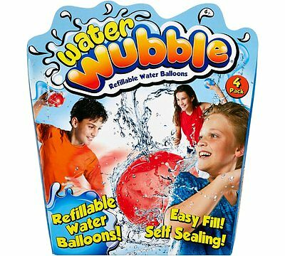 Water Wubble Refillable Water Balloon Reusable Water Balloons Are Pop Resistant