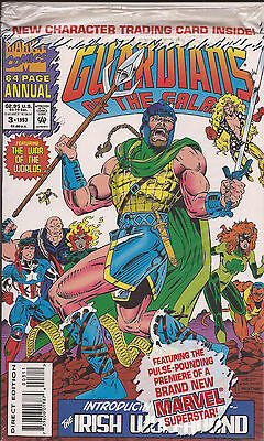 Guardians of the Galaxy Annual #3 Marvel Irish Wolfhound trading card polybag VF