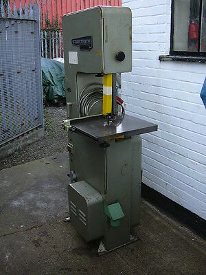 """Startrite 14-S-5 wood cutting bandsaw, 14"""" throat, cast table, 5 speeds"""