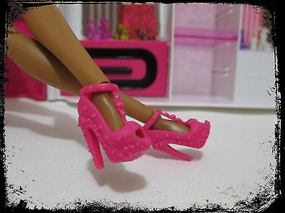 Barbie® Fashionistas® accessory  pink studded high heel shoes  nice