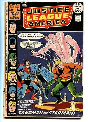JUSTICE LEAGUE OF AMERICA #94-First appearance of Malcolm Merlyn Arrow TV Show G