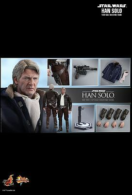 "Star Wars - Han Solo Episode VII The Force Awakens 12"" 1:6 Scale Action Figure-H"