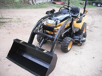 Cub Cadet Yanmar Sc2400 4x4 Loader Belly Mower Compact Tractor