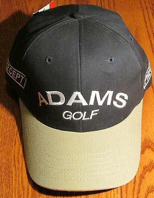 TOM WATSON Autographed ADAMS GOLF HAT Precept Fairway woods Signed to Jason