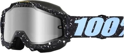 100% Snow Snowmobile ACCURI Goggles (MILKYWAY w/Anti-Fog Mirror 50213-196-02