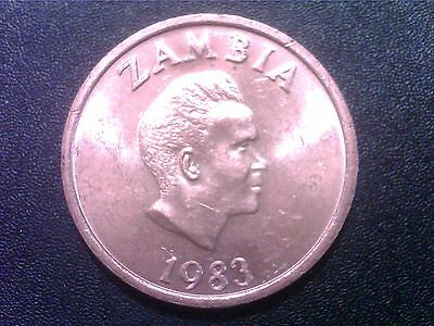 Zambia   Two   Ngwee     1983   Unc      Aw26